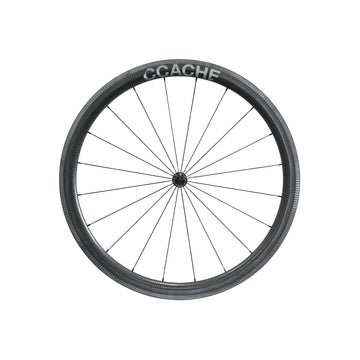 CCACHE 45CR Rim Brake Carbon Clincher Wheelset - CCACHE