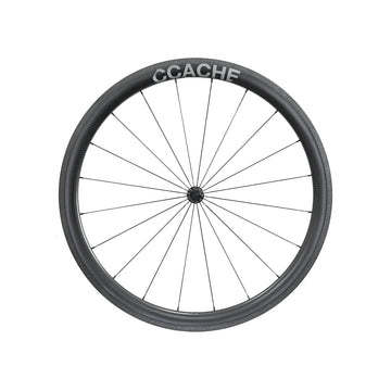 CCACHE 45RR Rim Brake Carbon Tubeless Wheelset - CCACHE