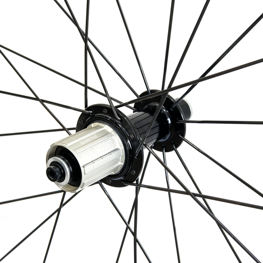 CCACHE 35RR Rim Brake Carbon Tubeless Wheelset - CCACHE