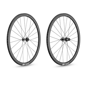 DT Swiss PRC 1100 DICUT 35 Carbon Clincher Disc Brake Wheelset - CCACHE