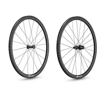 DT Swiss PRC 1400 SPLINE 35 Carbon Clincher Disc Brake Wheelset - CCACHE
