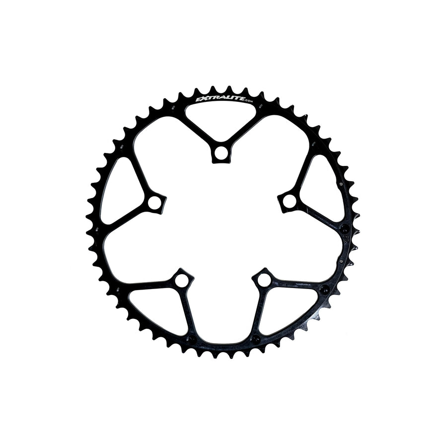 Extralite OctaRamp MC Road Mid-Compact Chainrings - CCACHE