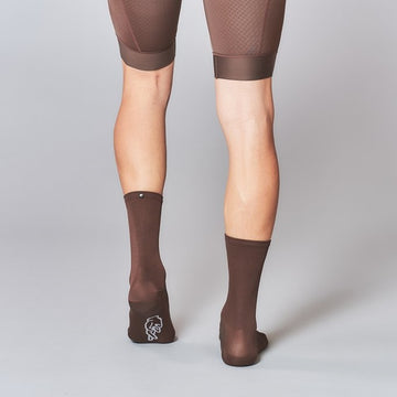 Fingerscrossed Classic Socks - Chocolate - CCACHE