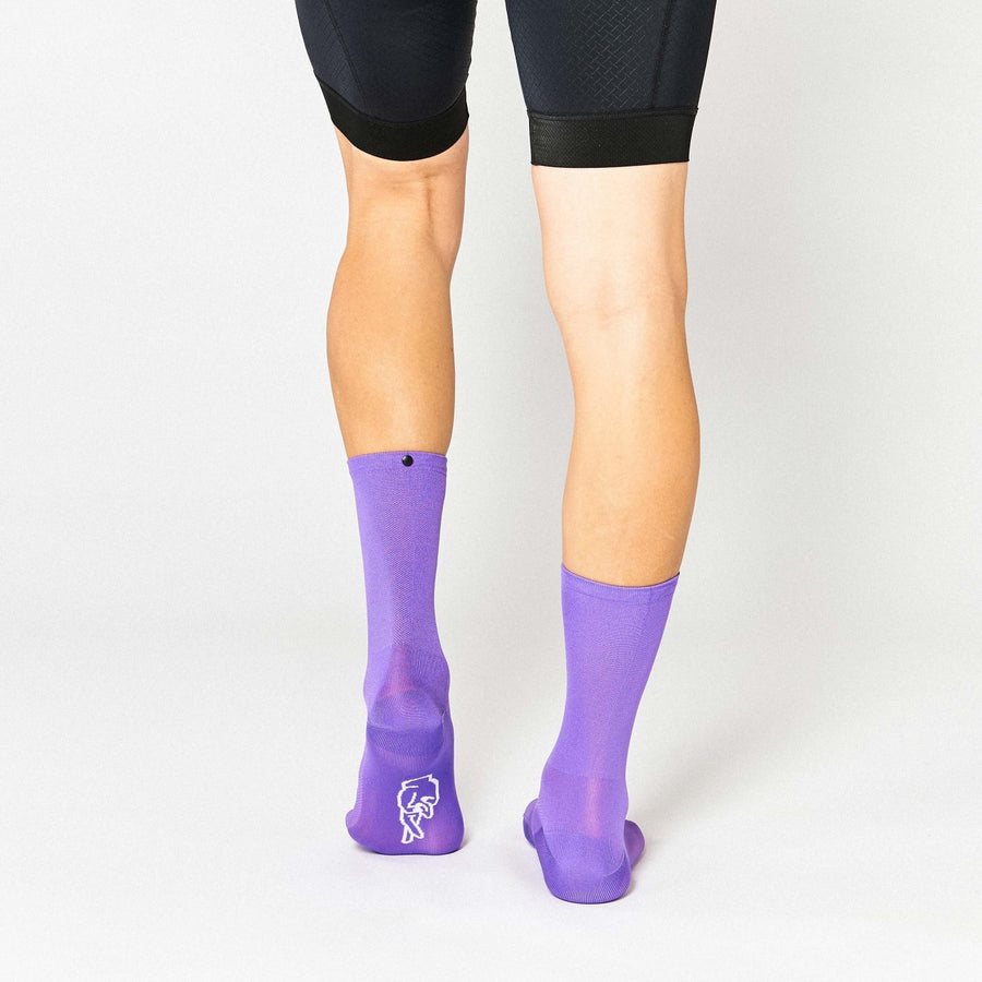 Fingerscrossed Classic Socks - Lilac - CCACHE