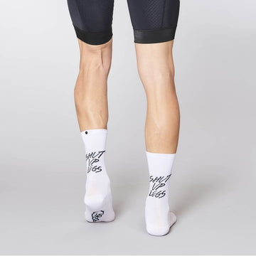Fingerscrossed x Shut Up Legs Socks - White - CCACHE