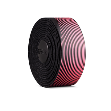 Fizik Vento Microtex Tacky Bi-Colour Bar Tape (Black/Pink) - CCACHE