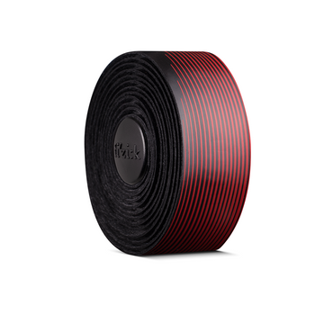 Fizik Vento Microtex Tacky Bi-Colour Bar Tape (Black/Red) - CCACHE