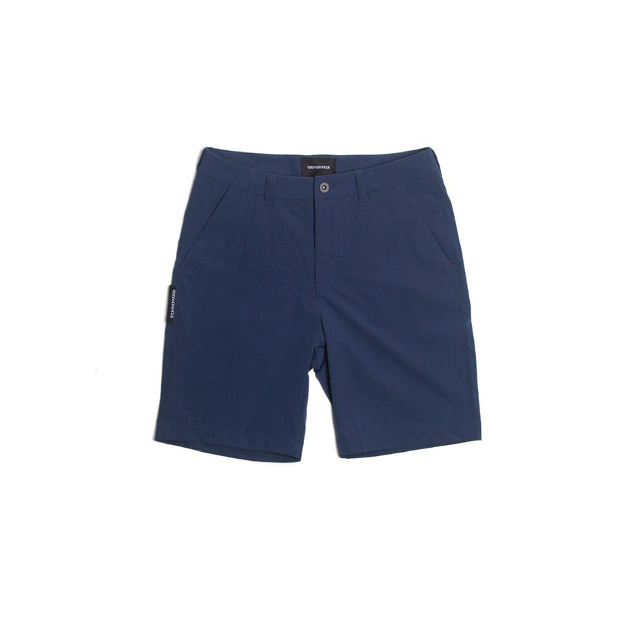 God And Famous Commuter Shorts - Navy - CCACHE