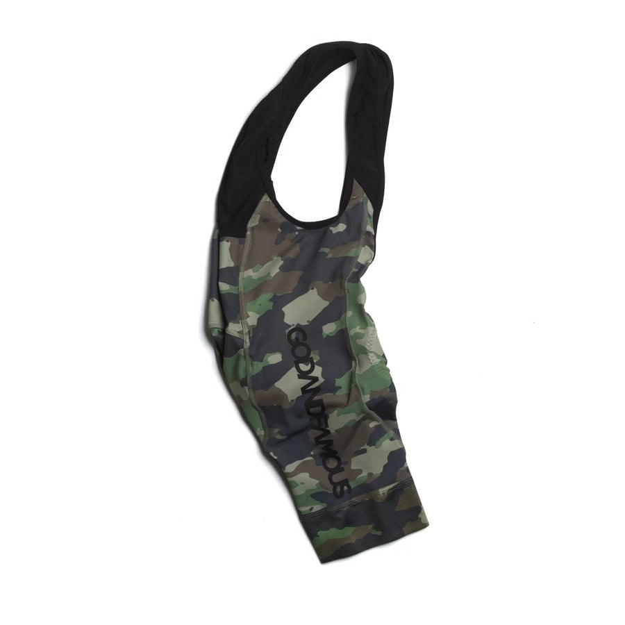 god-and-famous-woodland-camo-bib-short-side