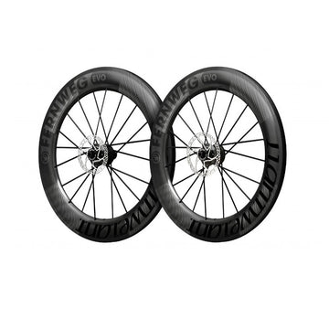 Lightweight Fernweg C85 EVO Disc Brake Tubeless Wheelset - Schwarz Edition - CCACHE