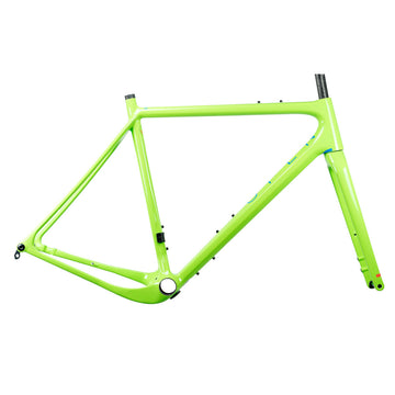 OPEN New UP Gravel Frameset - Green - CCACHE