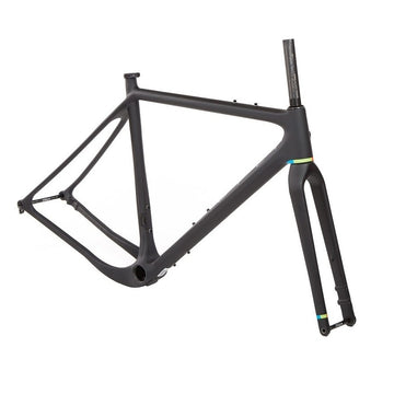 OPEN UPPER Gravel Frameset - Matte Black - CCACHE