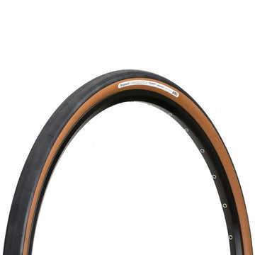 Panaracer GravelKing Slick+ Plus Tubeless Tyre - Brown - CCACHE