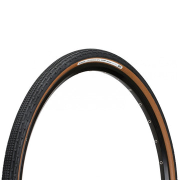 Panaracer GravelKing SK+ Plus Tubeless Tyre - Brown - CCACHE