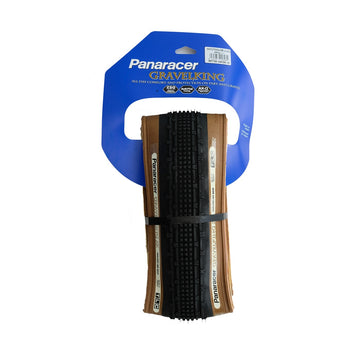 Panaracer GravelKing SK TLC Clincher Tyre - Brown - CCACHE