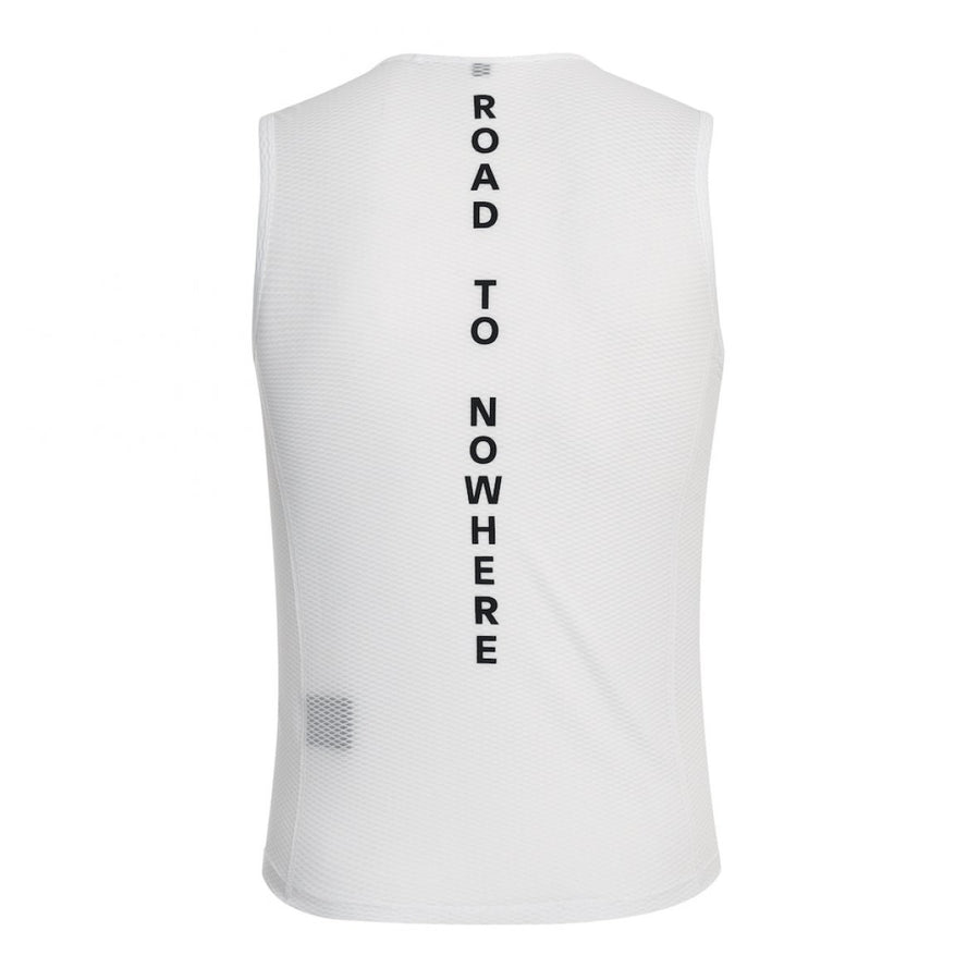 Pas Normal Studios Sleeveless Baselayer - White - CCACHE