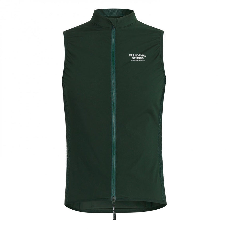 Pas Normal Studios Stow Away Gilet - Dark Green - CCACHE