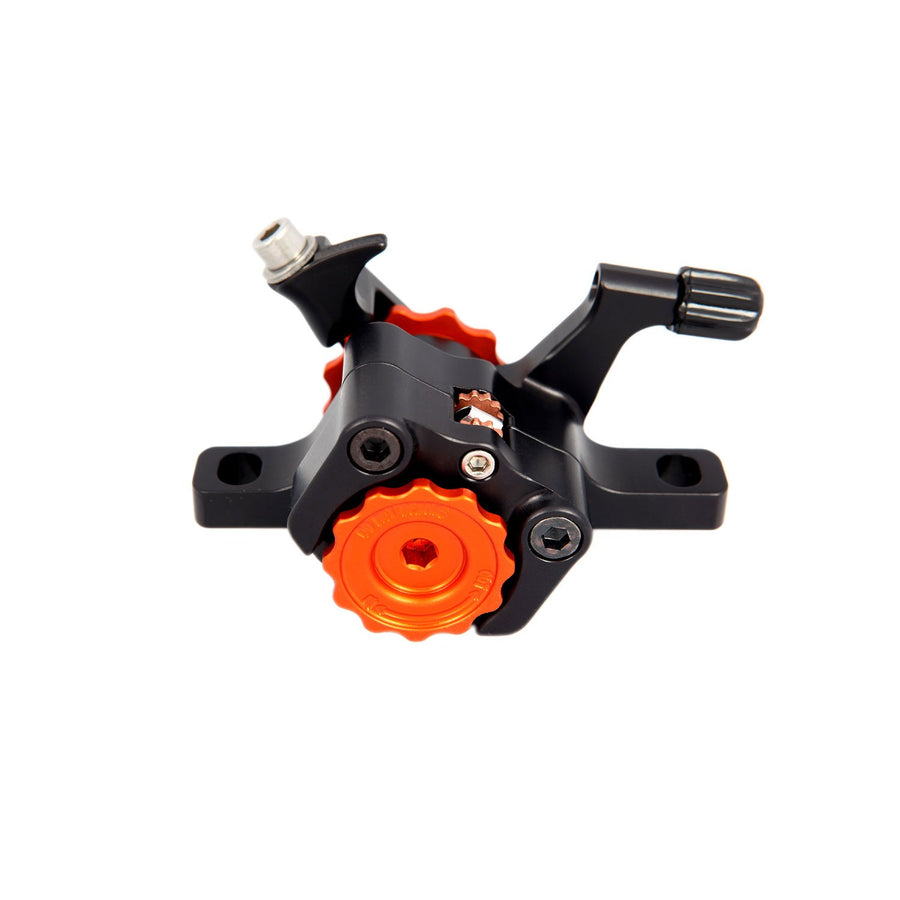 paul-post-mount-i-s-klamper-disc-brake-caliper-black-orange-detail