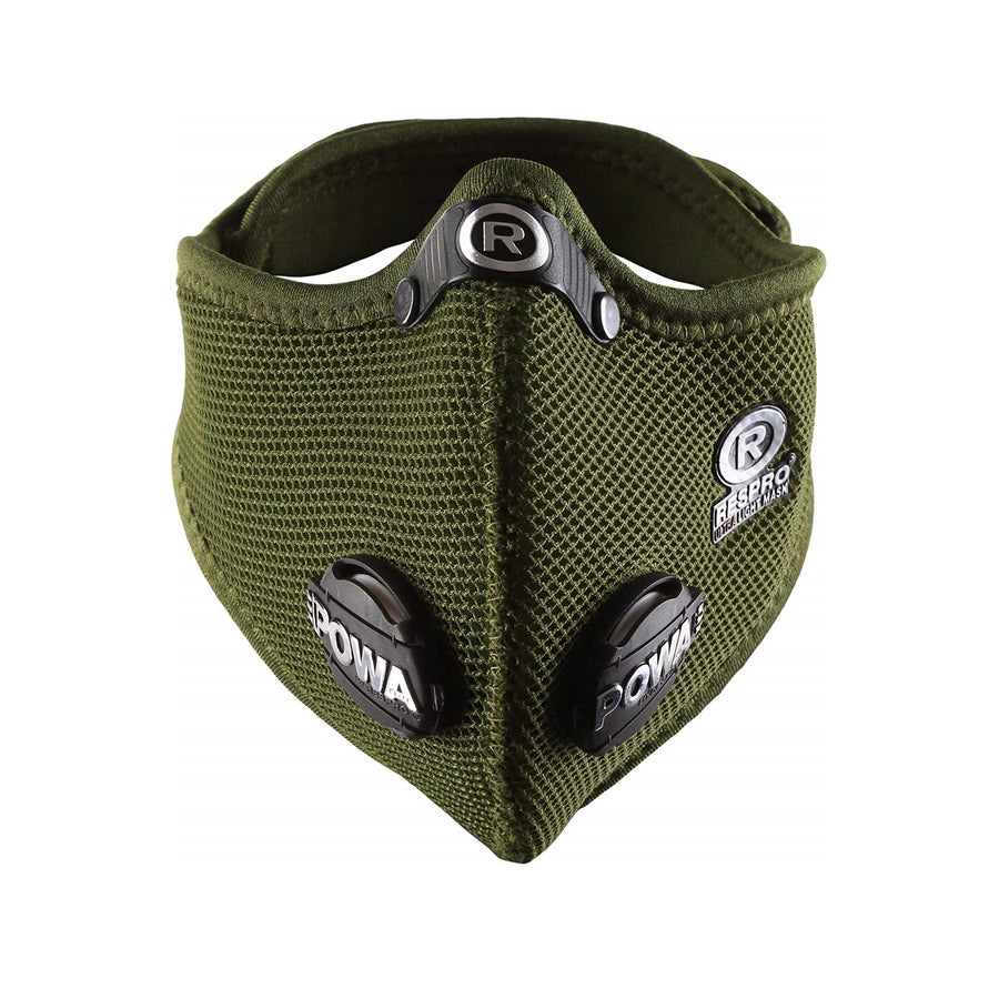 Respro Ultralight Mask - Olive - CCACHE