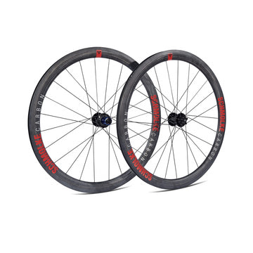 Schmolke SL45 Carbon Clincher Disc Brake Wheelset - CCACHE