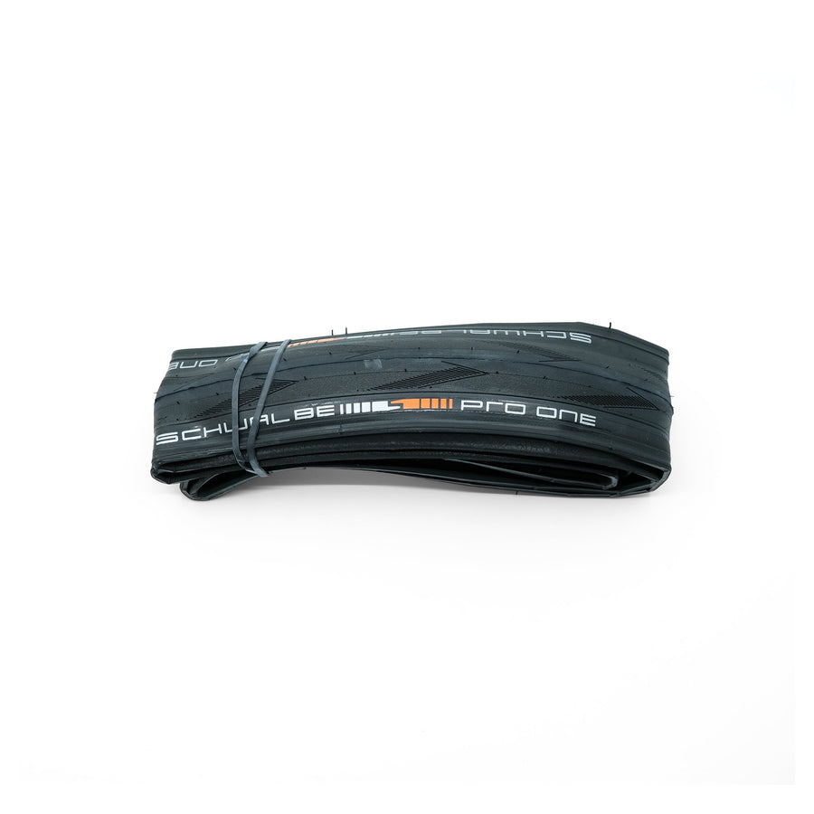 Schwalbe Pro One Tubeless TLE Tyre - Black (Addix Race) - CCACHE