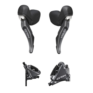 Shimano GRX Shifters with Flat Mount Calipers (ST-RX810 + BR-RX810)