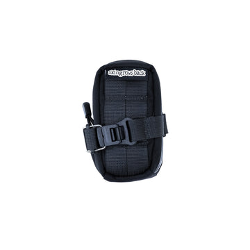 skingrowsback Plan B Saddle Bag - Black - CCACHE