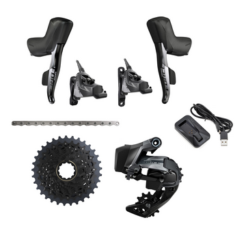 SRAM Force AXS HRD 1x Shift Kit (10-36 Cassette, Medium Cage)