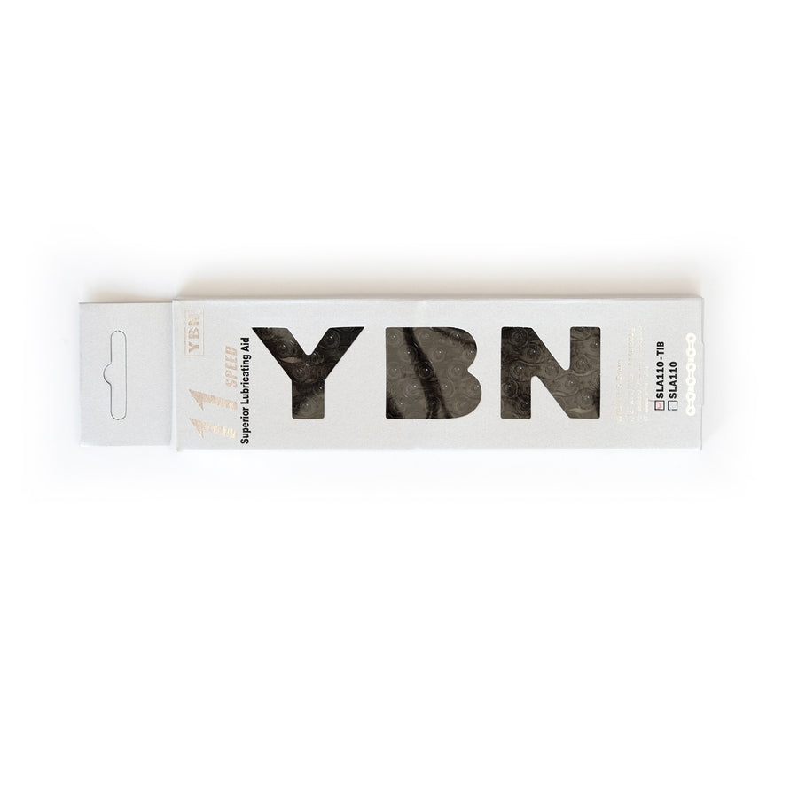 YBN SLA110 11-Speed Ti-Nitrate Chain - Black - CCACHE