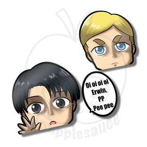 Levi and Erwin - joapplesauce