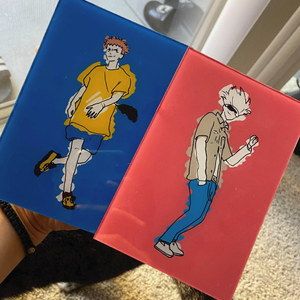 Jujutsu Kaisen Glass Painting - joapplesauce