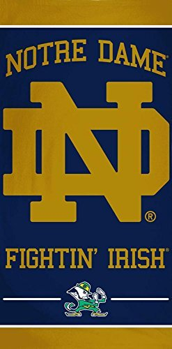 McArthur Notre Dame ND Fightin' Irish 30 X 60 Inch Beach Towel