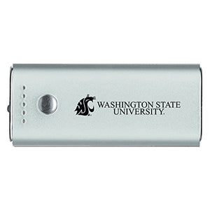 LXG, Inc. Washington State University -Portable Cell Phone 5200 mAh Power Bank Charger -Silver