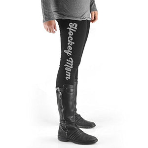 ChalkTalkSPORTS Hockey High Print Legging Hockey Mom