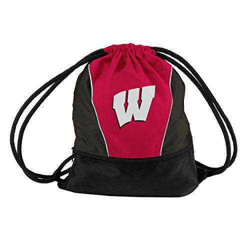 Logo Brands 244-64S NCAA Wisconsin Badgers Sprint Pack, Small, Red
