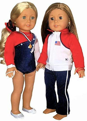 american girl doll gymnastics outfit for 76 american girl doll store gymnastics set
