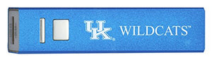 University of Kentucky - Portable Cell Phone 2600 mAh Power Bank Charger - Blue