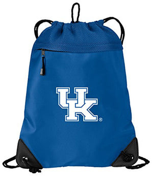 Broad Bay University of Kentucky Drawstring Backpack Kentucky Wildcats Cinch Bag - Cool MESH & Microfiber