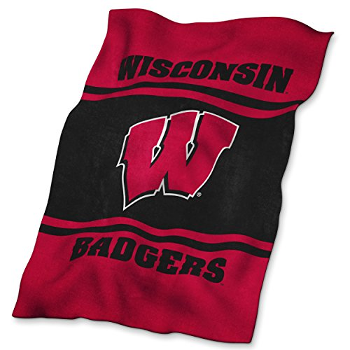 NCAA Wisconsin Badgers Ultrasoft Blanket