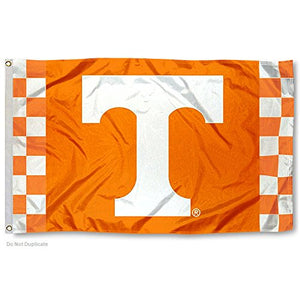 College Flags and Banners Co. Tennessee Volunteers Checkerboard Flag