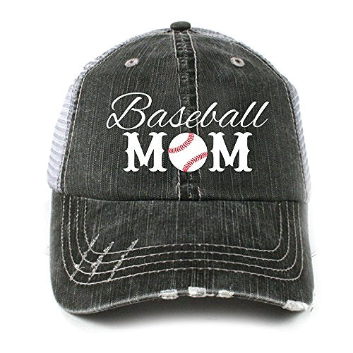 Katydid Baseball Mom Women's Trucker Hat Gray