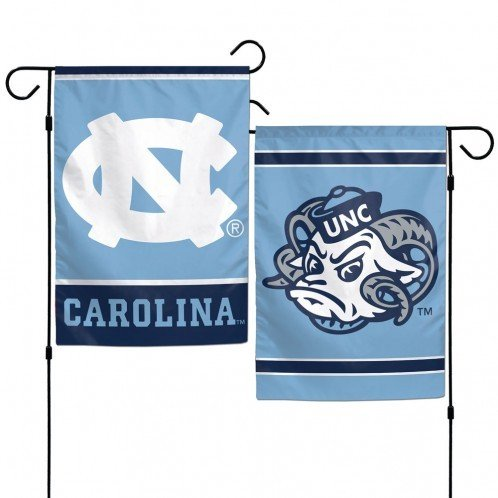 WinCraft NCAA University of North Carolina 12x18 Inch 2-Sided Outdoor Garden Flag Banner