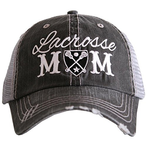 Katydid Lacrosse Mom Baseball Hats Caps by