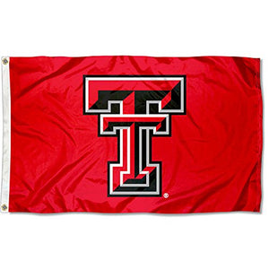 TTU Texas Tech Red Raiders University Large College Flag