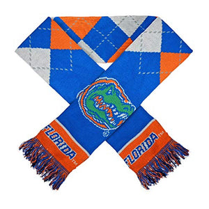 For Bare Feet NCAA Argyle Lineup Winter Scarf-Florida Gators