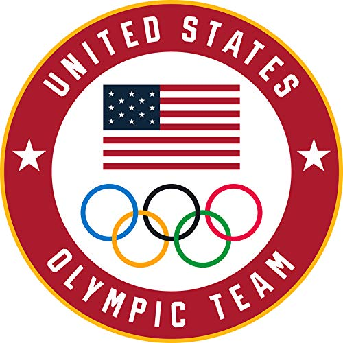 2020 Summer Olympics Tokyo Japan Team USA Flag & Olympic Rings Lapel Pin