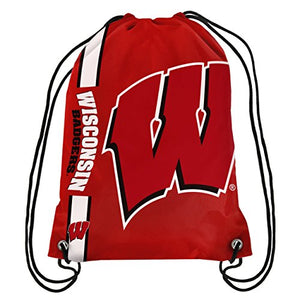 Wisconsin Big Logo Drawstring Backpack