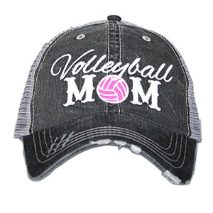 Volleyball Mom Women's Trucker Hats Caps by Katydid