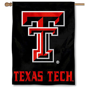 College Flags and Banners Co. Texas Tech University Red Raiders House Flag