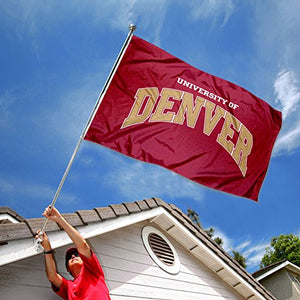College Flags and Banners Co. DU Pioneers Flag Large 3x5